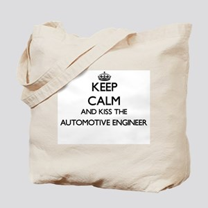 Keep calm and kiss the Automotive Enginee Tote Bag