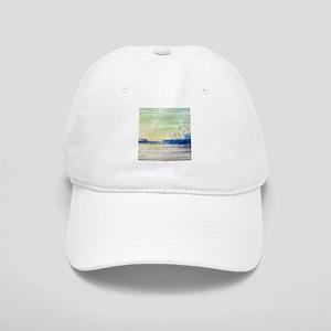 Green Grey Canvas Pier Cap