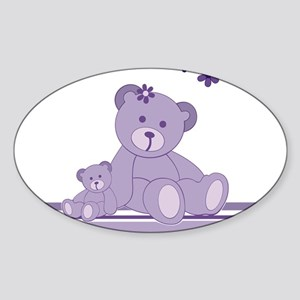 Purple Awareness Bears Sticker