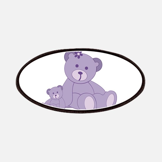 Purple Awareness Bears Patches