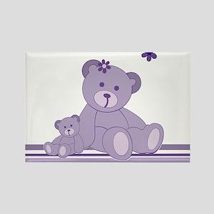 Purple Awareness Bears Magnets