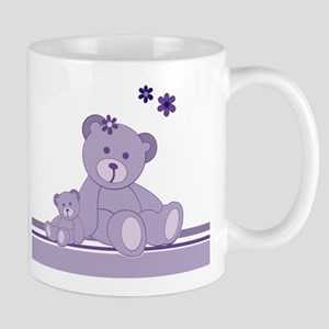 Purple Awareness Bears Mugs