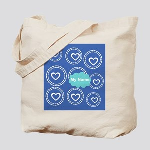 Cool Blue Cloud Tote Bag