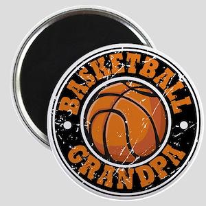 Basketball Grandpa Magnet