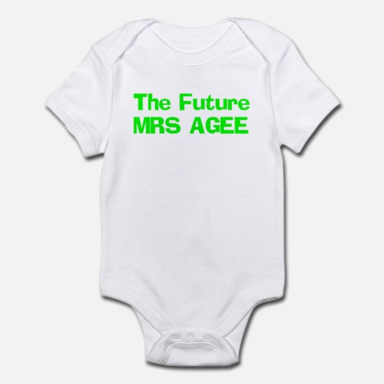The Future MRS AGEE  Infant Bodysuit