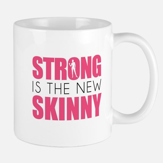 STRONG IS THE NEW SKINNY Mugs
