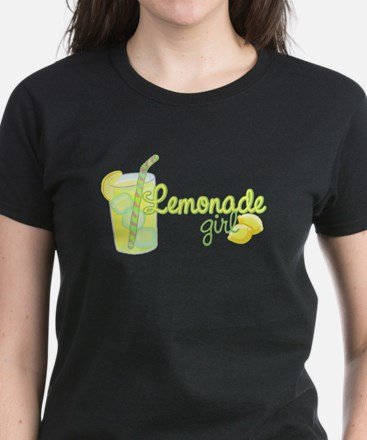 Lemonade Girl Women's Dark T-Shirt
