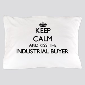 Keep calm and kiss the Industrial Buye Pillow Case