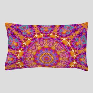 Trippy Hippy | v6 Geometric Mandala Pillow Case