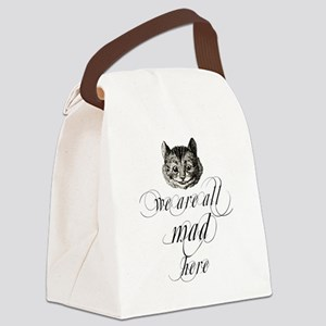 Cat  Canvas Lunch Bag