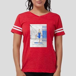 Hair Loss Card Women's Cap Sleeve T-Shirt
