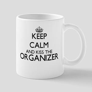 Keep calm and kiss the Organizer Mugs