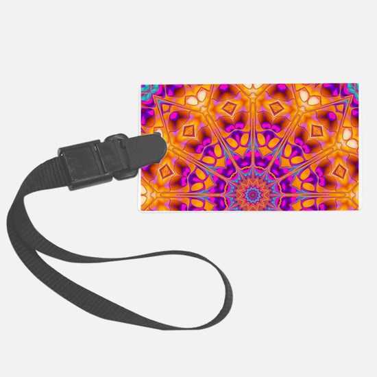 Trippy Hippy | v8 Geometric Mand Luggage Tag