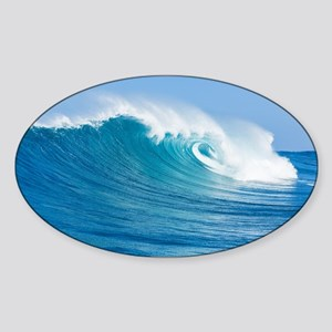 Blue Wave Sticker