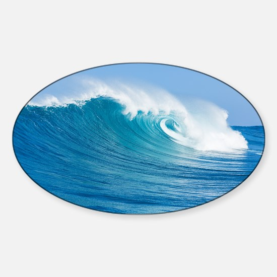 Blue Wave Decal
