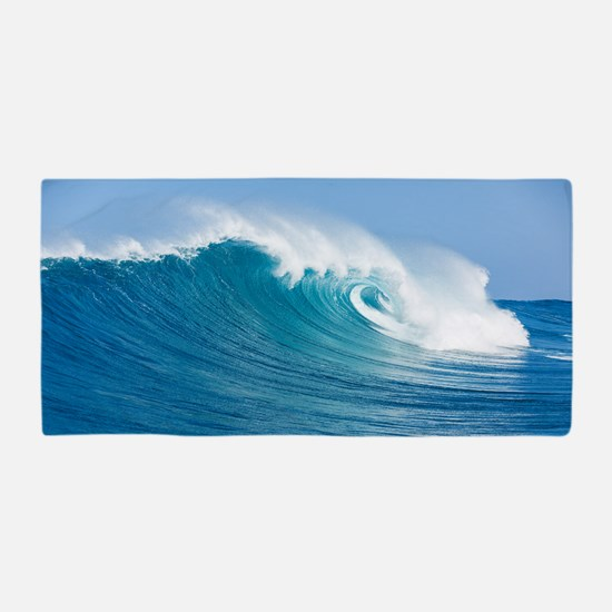 Blue Wave Beach Towel