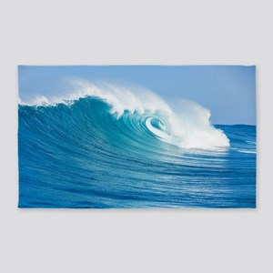 Blue Wave 3'x5' Area Rug