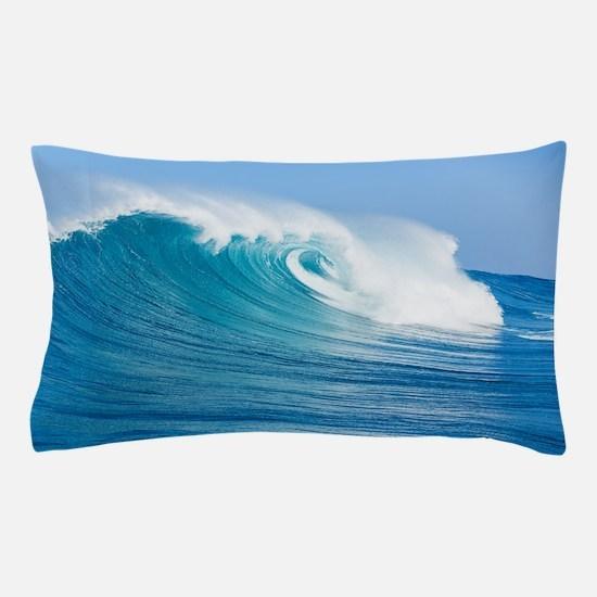 Blue Wave Pillow Case