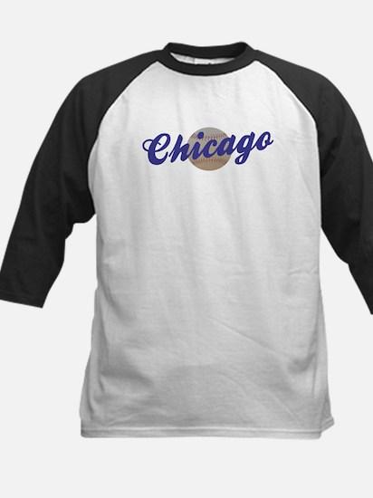 Chicago  w/baseball Kids Baseball Jersey