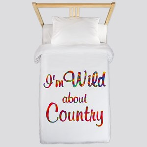 Wild about Country Twin Duvet