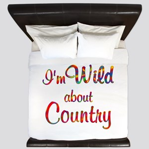 Wild about Country King Duvet
