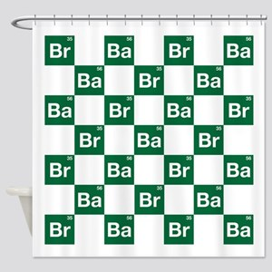 Breaking Bad Logo Pattern Shower Curtain