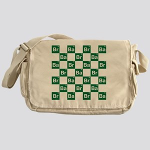 Breaking Bad Logo Pattern Messenger Bag