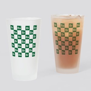 Breaking Bad Logo Pattern Drinking Glass