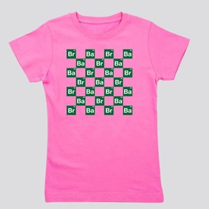 Breaking Bad Logo Pattern Girl's Tee