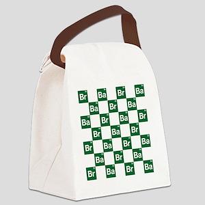 Breaking Bad Logo Pattern Canvas Lunch Bag