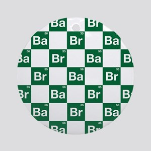 Breaking Bad Logo Pattern Ornament (Round)