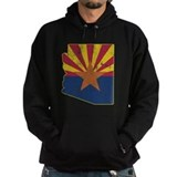 Arizona state flag Dark Hoodies