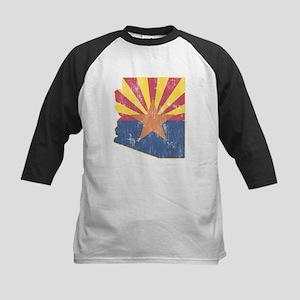Vintage Arizona State Outline Kids Baseball Jersey