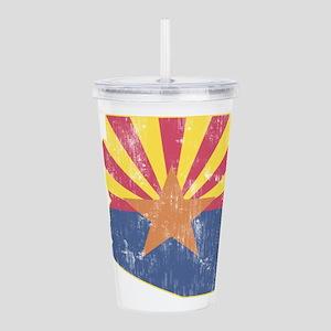 Vintage Arizona State Acrylic Double-wall Tumbler