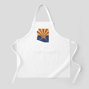 Vintage Arizona State Outline Flag Apron