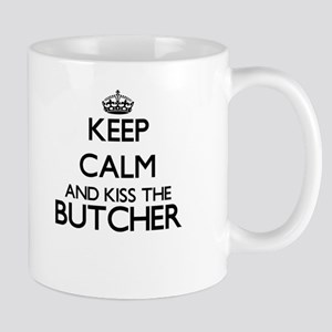 Keep calm and kiss the Butcher Mugs