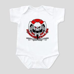 Zombies fear me r Infant Bodysuit
