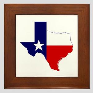 Great Texas Framed Tile