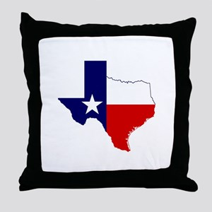 Great Texas Throw Pillow