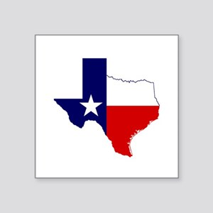 "Great Texas Square Sticker 3"" x 3"""