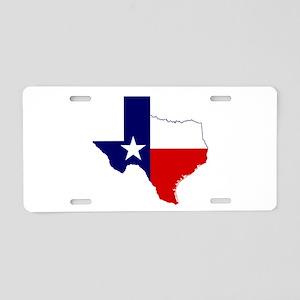 Great Texas Aluminum License Plate