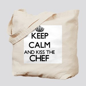 Keep calm and kiss the Chef Tote Bag