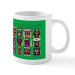 """""""The Twelve Tikis Series"""" Mugs"""
