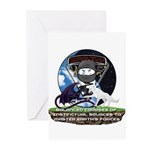 Natures Ninjas Defined Greeting Cards