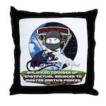 Natures Ninjas Defined Throw Pillow