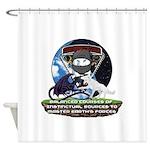 Natures Ninjas Defined Shower Curtain