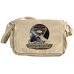 Natures Ninjas Defined Messenger Bag