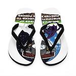 Natures Ninjas Defined Flip Flops