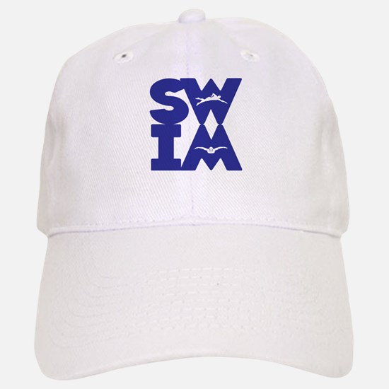 SWIM BLOCK Baseball Baseball Cap