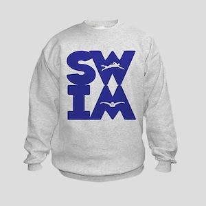 SWIM BLOCK Kids Sweatshirt